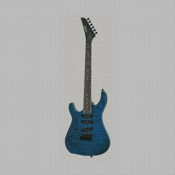 Review de california guitarra electrica california