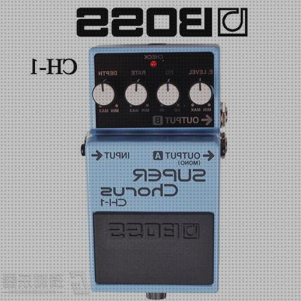 Review de pedal de guitarra super chorus boss ch1