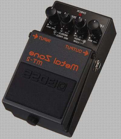 Todo sobre boss pedal guitarra boss metal zone