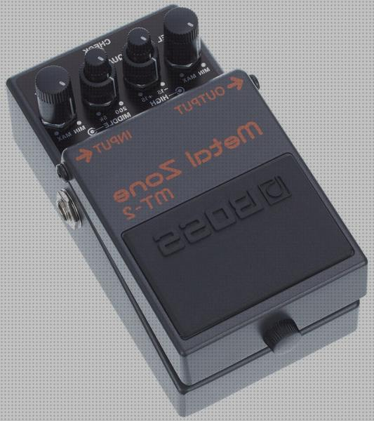 Opiniones de boss pedal guitarra boss metal zone