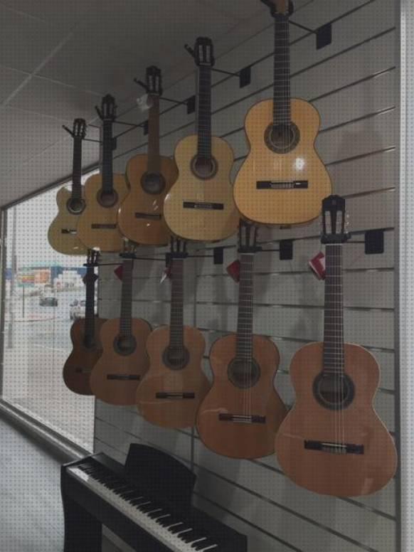 6x Clavijas Para Guitarra Ac/ústica Color Crema Con Puntos Negros